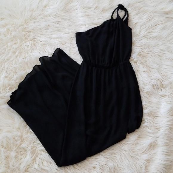 Rory Beca Dresses Black Grecian Bridesmaid Cocktail Dress Poshmark